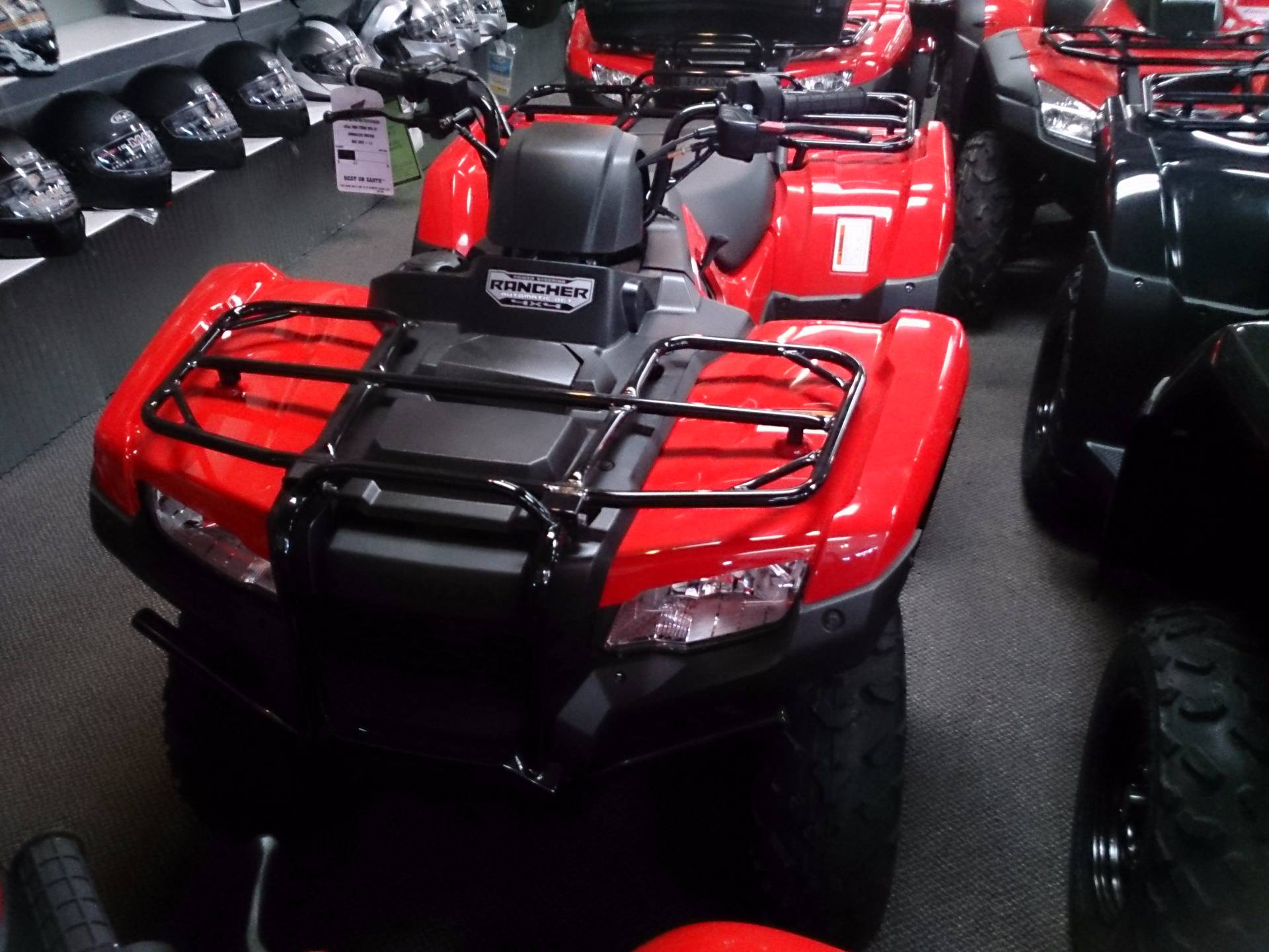 2017 Honda FourTrax Rancher 4x4 DCT EPS in Sterling, Illinois
