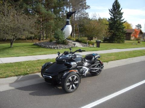 2015 Can-Am Spyder F3-S SE6 in Wisconsin Rapids, Wisconsin