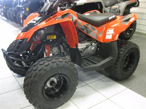 2017 Can-Am DS 70 in Wisconsin Rapids, Wisconsin