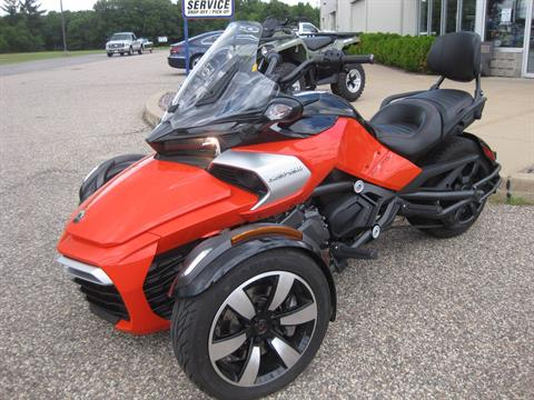2015 Can-Am Spyder F3  SE-6 in Wisconsin Rapids, Wisconsin