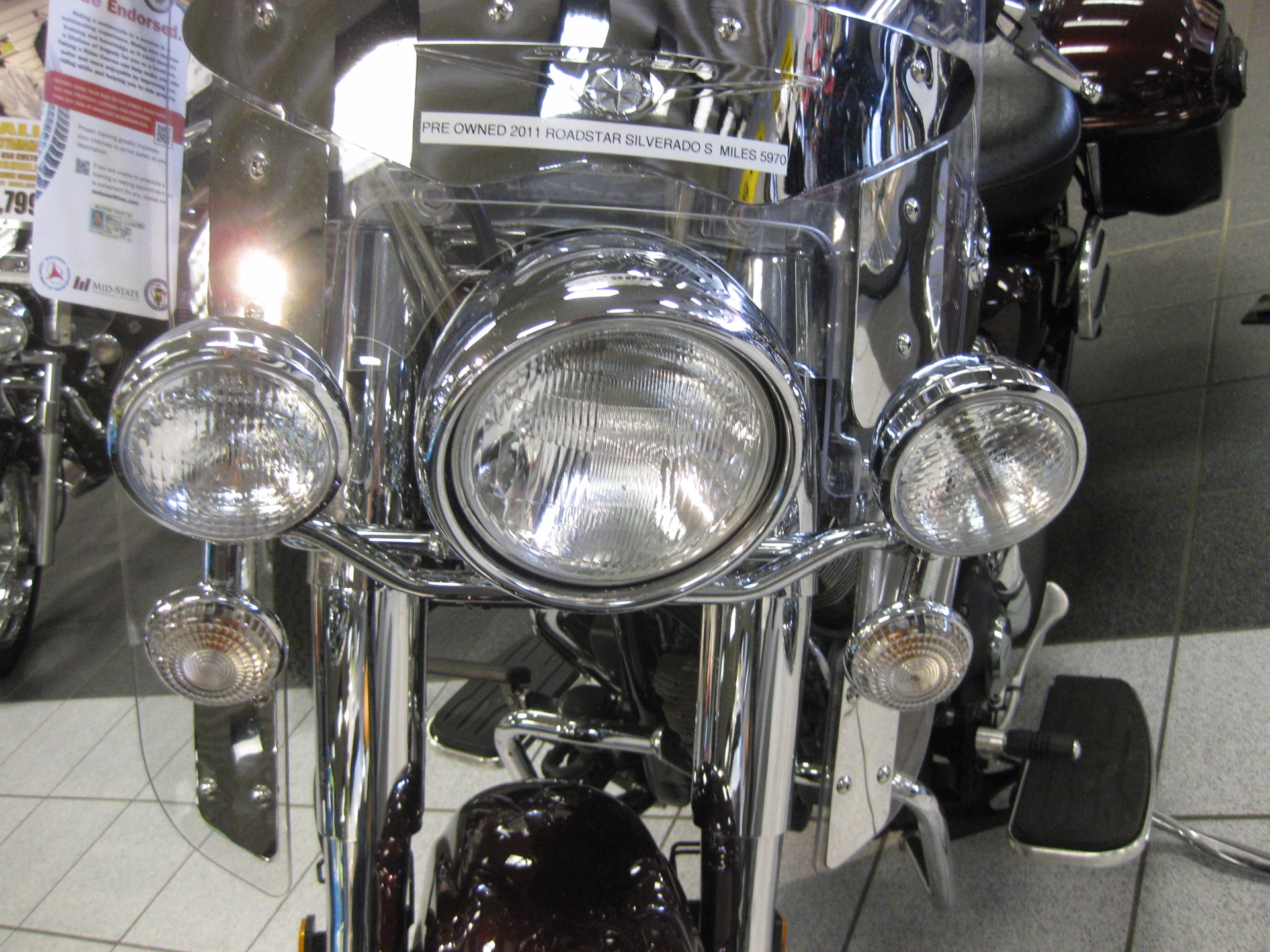 2011 Yamaha Road Star Silverado S in Wisconsin Rapids, Wisconsin