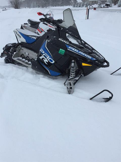 2013 Polaris 600 Rush PRO-R ES in Chippewa Falls, Wisconsin