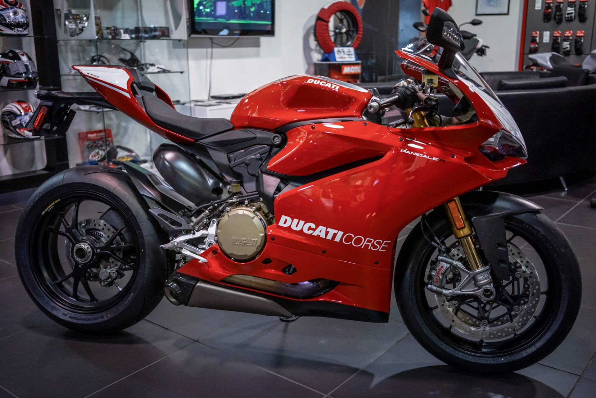 Born to race the new Panigale R brings a thrill to the track 205 hp react instantly to a twist