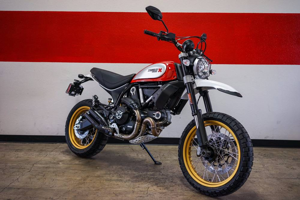 Straight from the desert and mountains of California Ducati Scrambler Desert Sled makes its entry