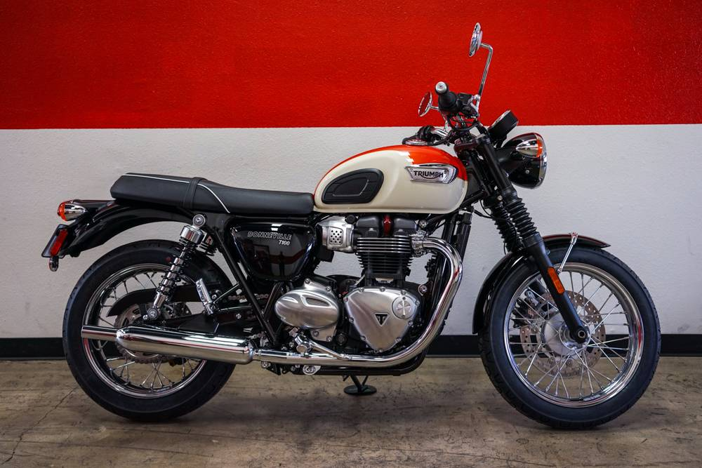 Beautifully styled and now even more accessible the Bonneville T100 and T100 Black are great new