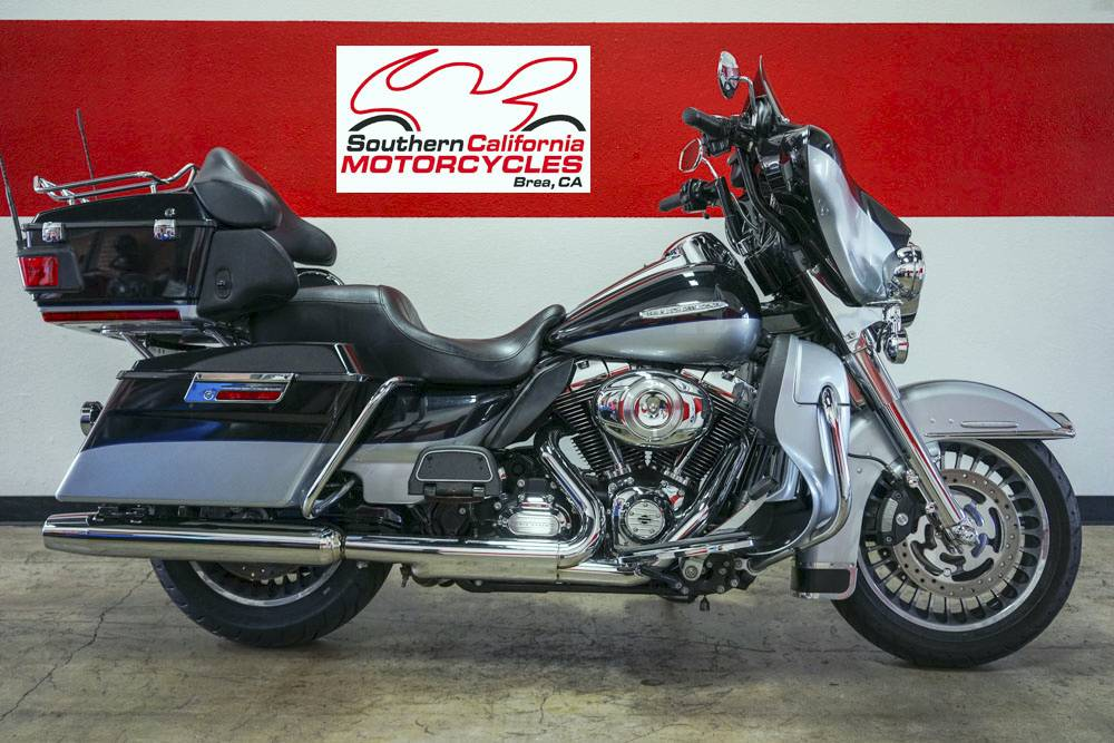 The 2012 Harley-Davidson Electra Glide Ultra Limited FLHTK is a premium featured touring bike fu