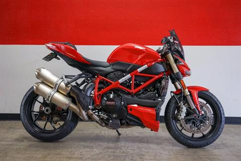2015 Ducati Streetfighter 848 in Brea, California