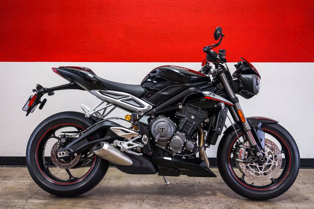 The range topping new Street Triple RS is the most explosive and adrenalin-charged Street Triple