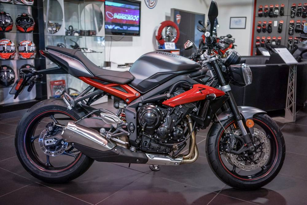 2016 Triumph Street Triple R ABS in Brea, California