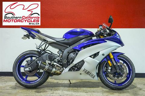 2015 Yamaha YZF-R6 in Brea, California