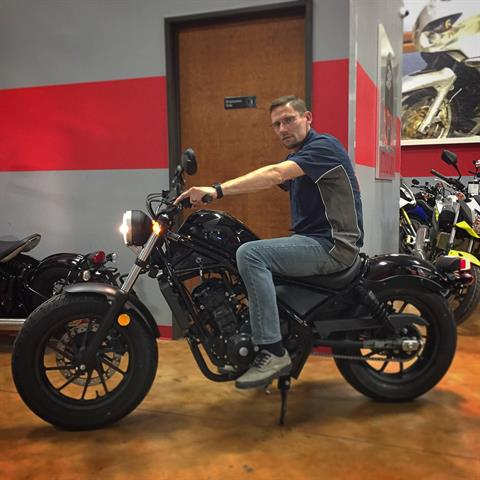 2017 Honda Rebel 300 in Dallas, Texas
