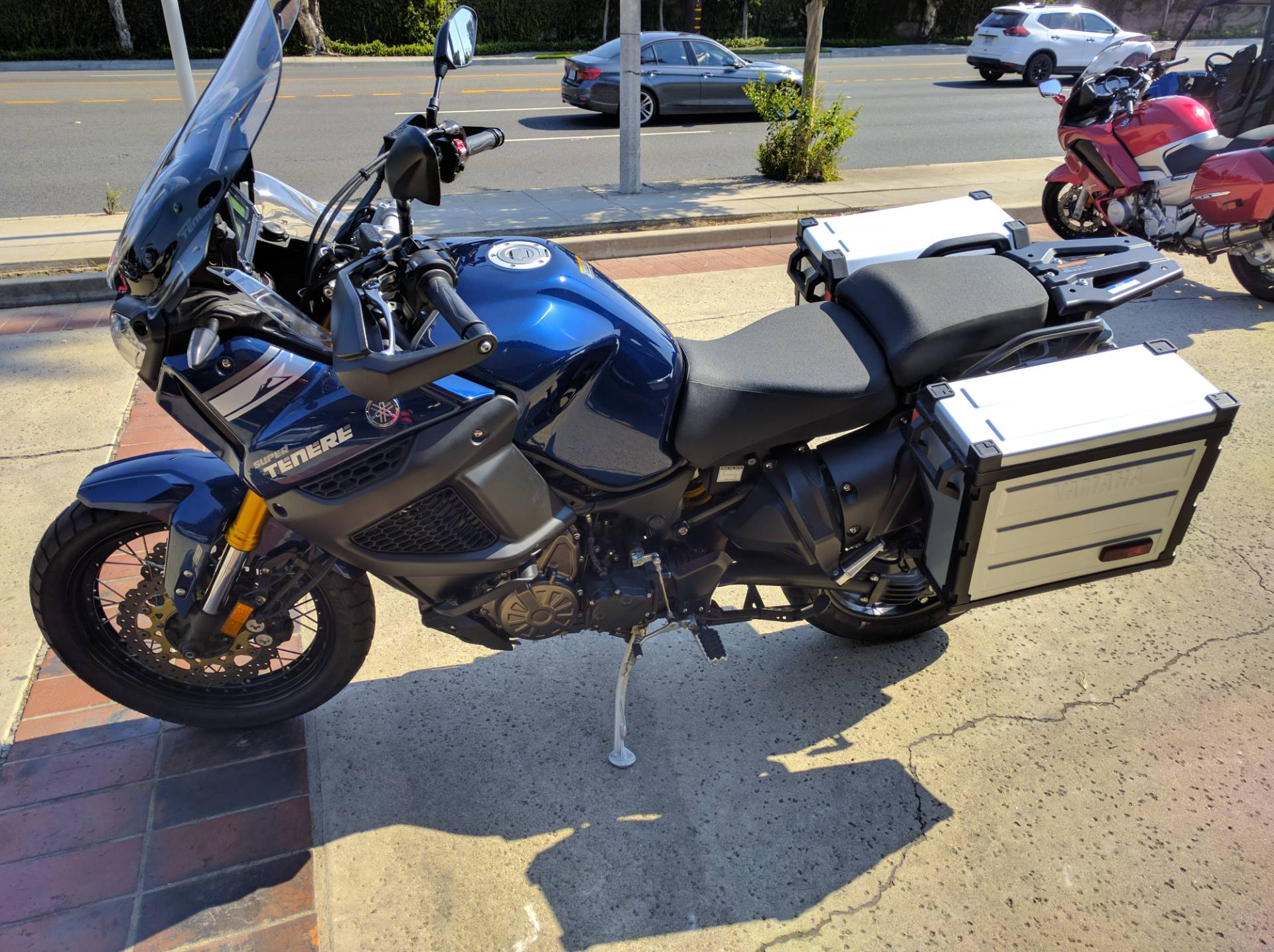 2015 Yamaha Super Ténéré ES in La Habra, California