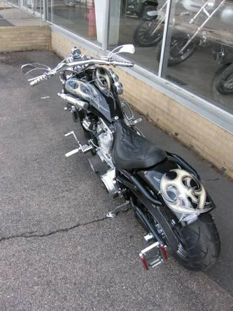 2002 Bourget Bike Works Low Blow Softail in Loveland, Colorado