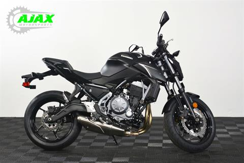 2017 Kawasaki Z650 ABS in Oklahoma City, Oklahoma