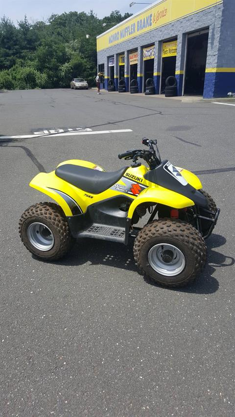 2003 Suzuki QuadSport® 50 in Danbury, Connecticut