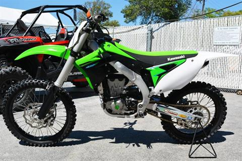 2015 Kawasaki KX™450F in Clearwater, Florida