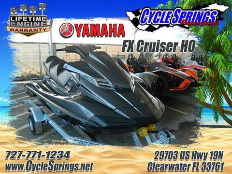 2017 Yamaha FX Cruiser HO in Clearwater, Florida