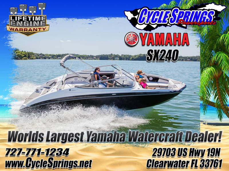 2017 Yamaha SX240 in Clearwater, Florida