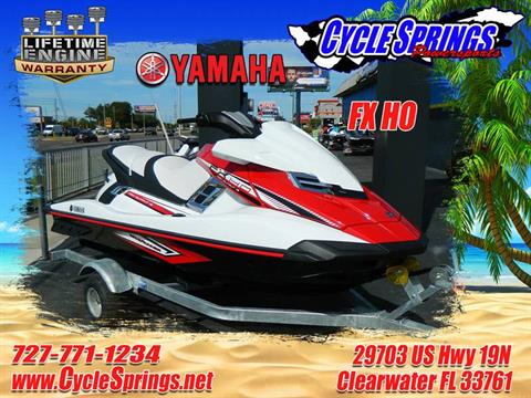 2017 Yamaha FX HO in Clearwater, Florida