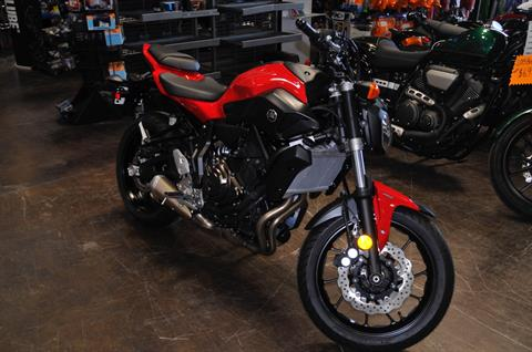 2015 Yamaha FZ-07 in Roseville, California