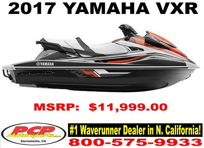 2017 Yamaha VXR in Sacramento, California
