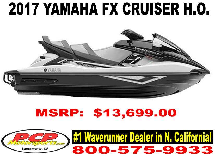 2017 Yamaha FX Cruiser HO in Sacramento, California
