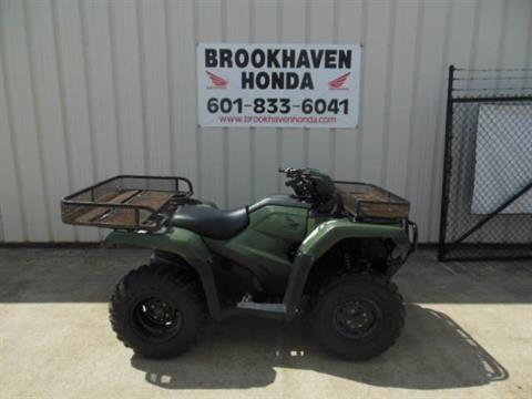2016 Honda FourTrax Foreman 4x4 in Brookhaven, Mississippi