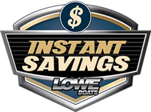 Lowe Boats - Instant Savings Voucher Promotion