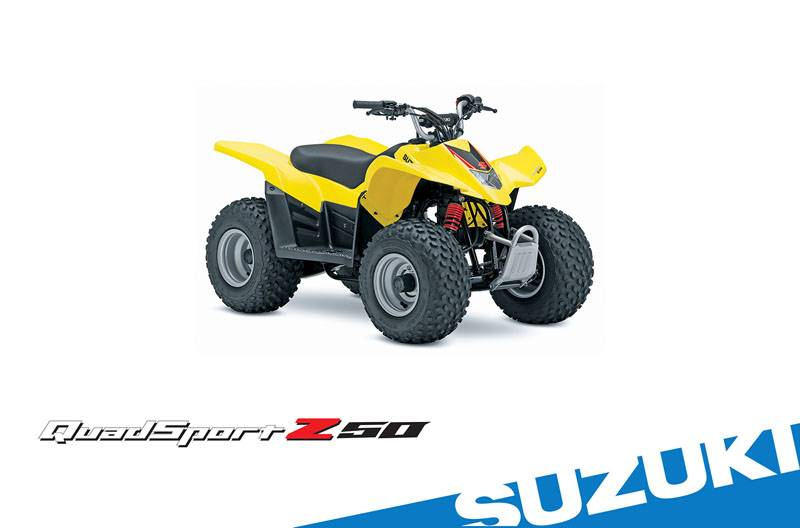 Suzuki Motor of America Inc. Suzuki Suzukifest 2017 QuadSport Z50 Financing as Low as 7.99% APR for 60 Months