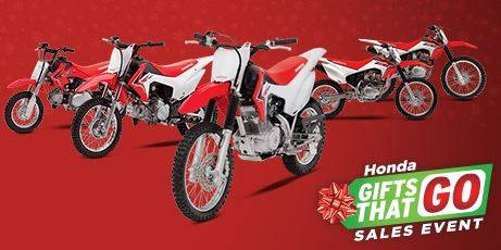 Honda - 3.24% Fixed APR on Select Motorcycles