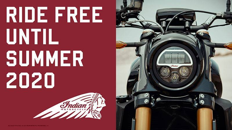 Indian - Ride Free Financing - 2019 Models