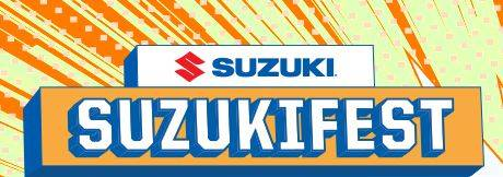 Suzuki Motor of America Inc. Suzuki Suzukifest Motorcycle Financing as Low as 7.99% APR for 60 Months
