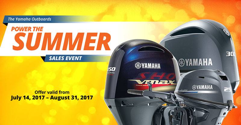 Yamaha Outboards - Power the Summer Sales Event