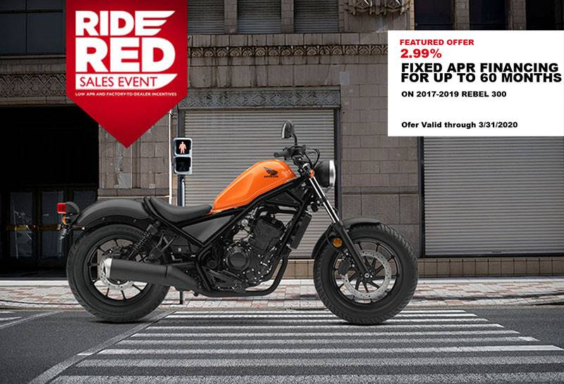 Honda - Ride Red Sales Event
