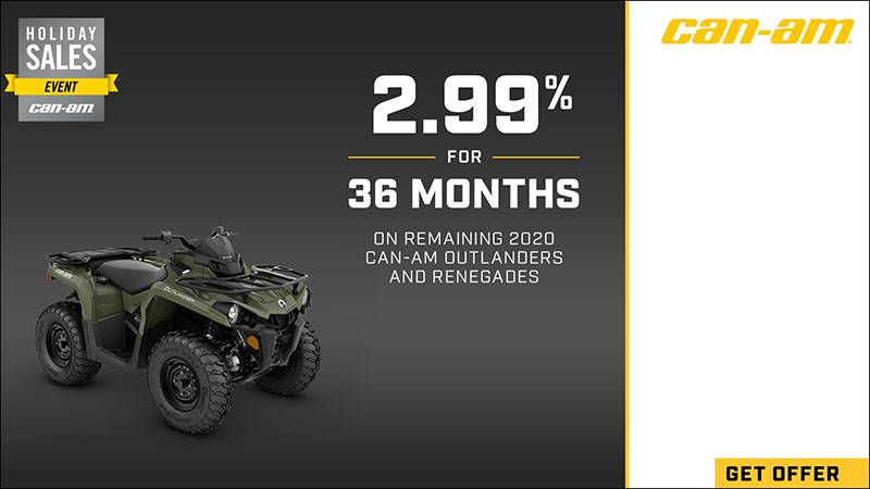 Can-Am Off-Road - Holiday Sales Event