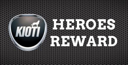 Kioti Heroes Reward Program