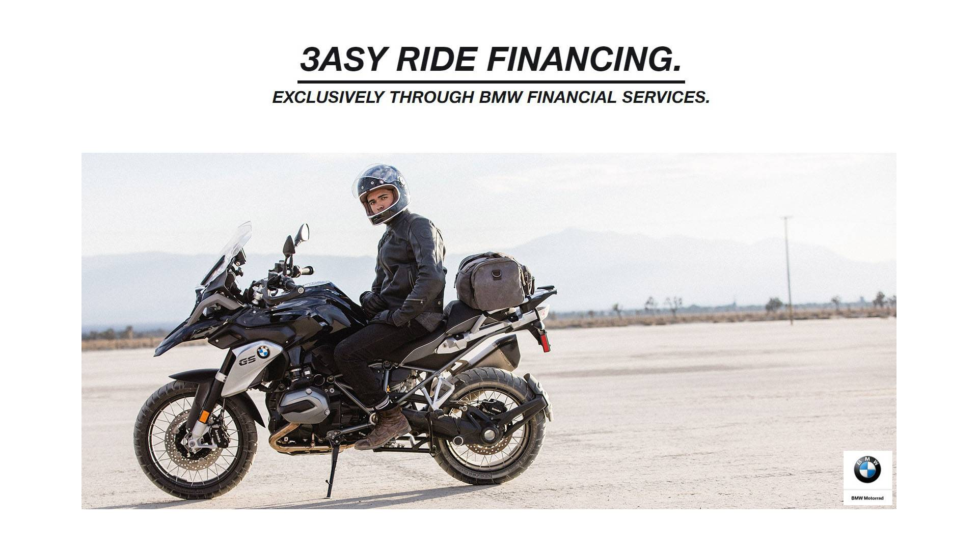 BMW 3ASY RIDE FINANCING