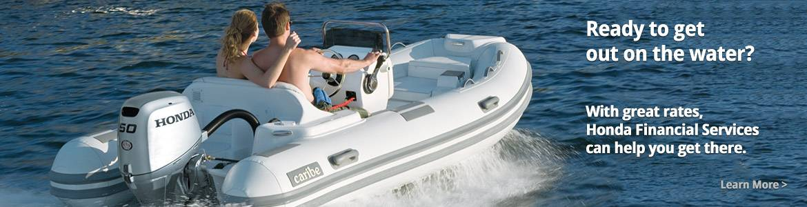Honda Marine - Financing on Select Boat/Motor Packages