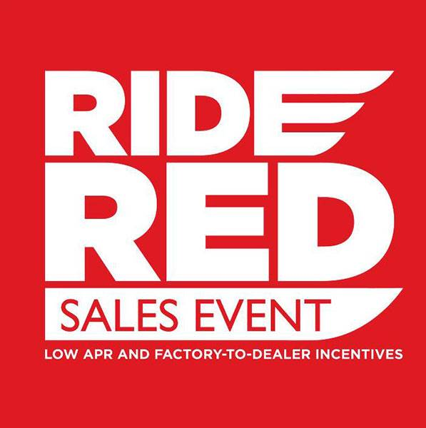 Honda Ride Red Sales Event - SxS - FTD Incentives
