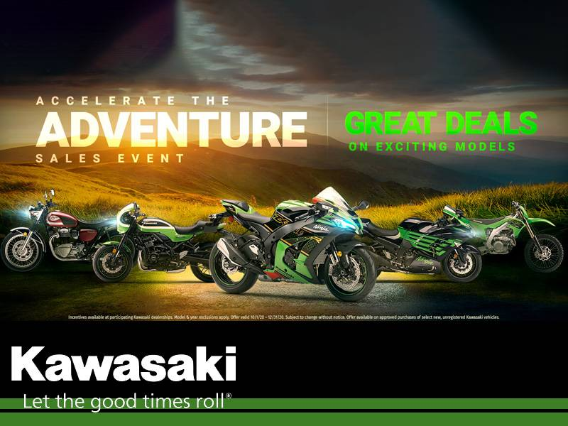 Kawasaki - Accelerate the Adventure Sales Event