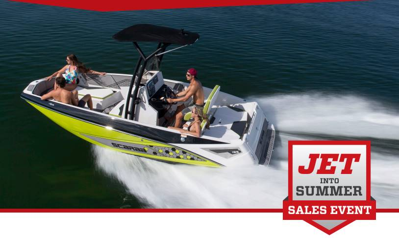 Scarab - Jet Into Summer Sales Event