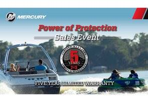 Mercury Marine Power of Protection Sales Event