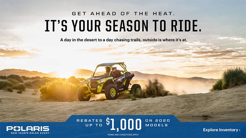 Polaris - New Year's Sales Event Offers