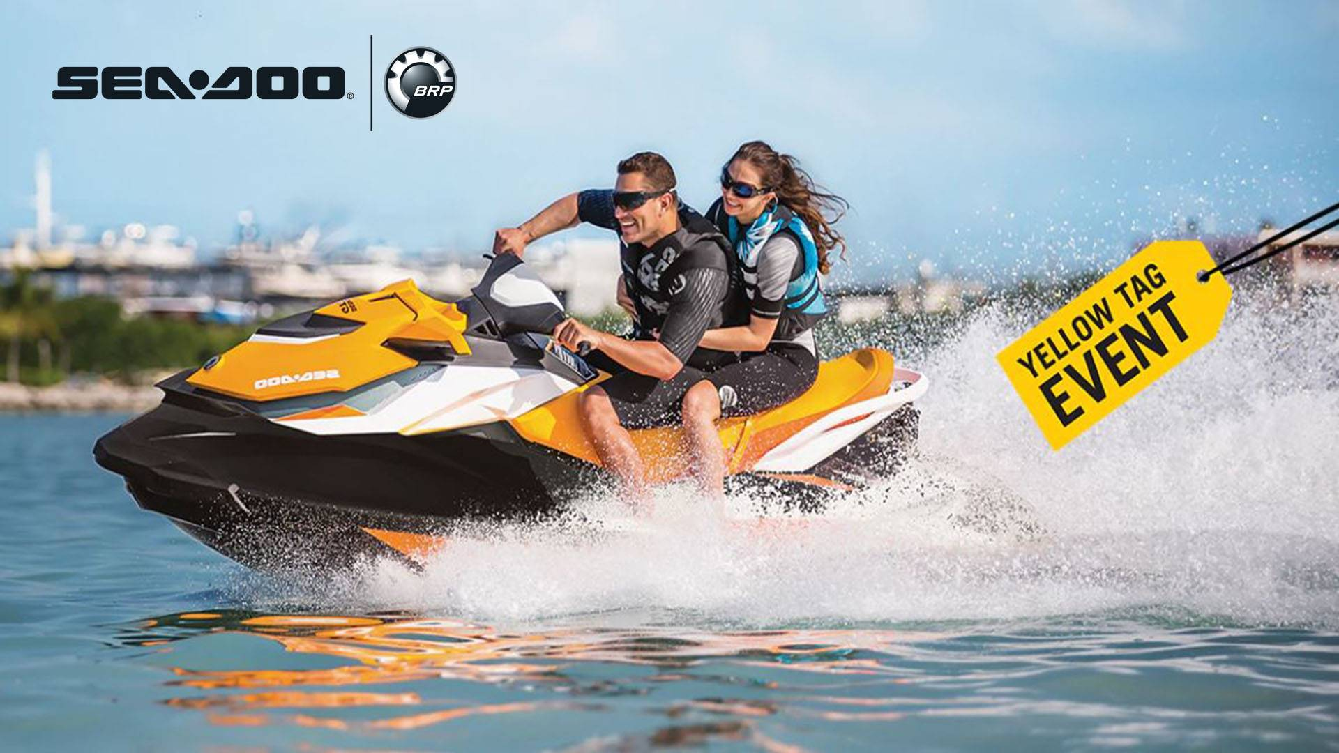 Sea-Doo - Yellow Tag Event - Rebate and Financing