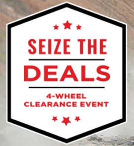 Honda Seize the Deals Event - SxS - FTD Incentives