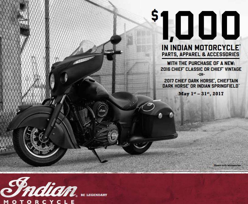 Indian Thunder Stroke 111 Special PGA Offers