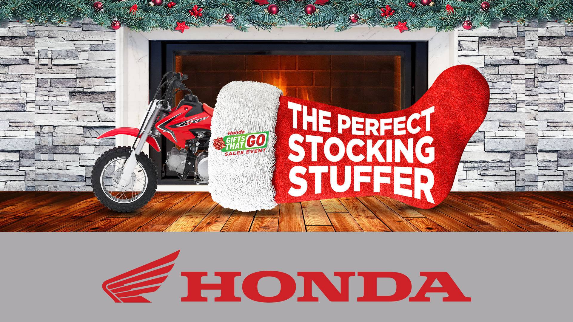 Honda - Gifts That Go Sales Event - All Motorcycles and Scooters