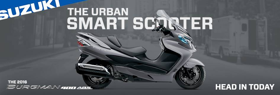 Suzuki Motor of America Inc. Suzuki Suzukifest Scooter Financing as Low as 1.99% APR for 36 Months or Customer Cash Offer