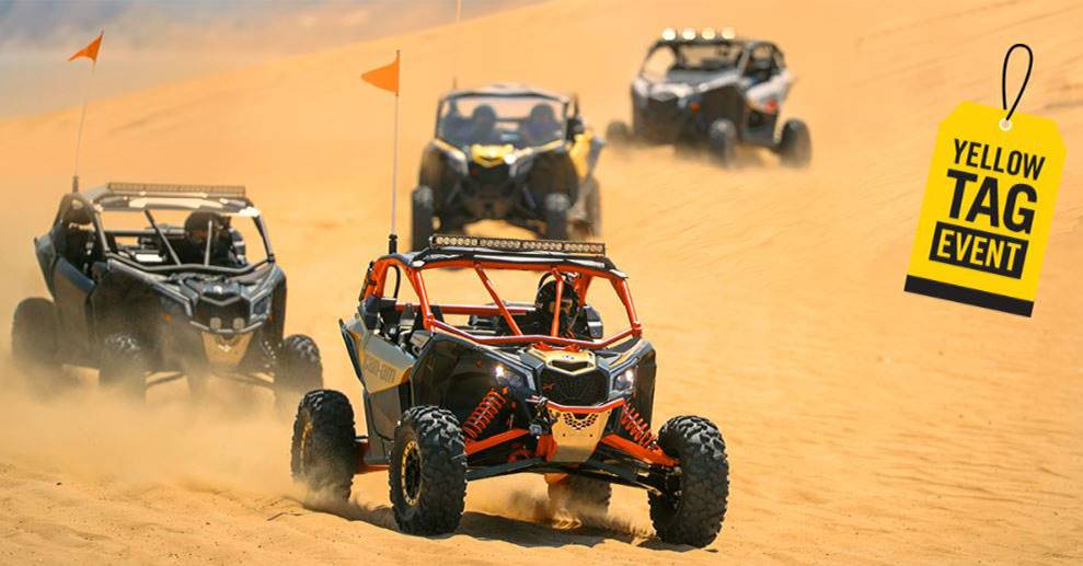 Can-Am Yellow Tag Event Maverick X3