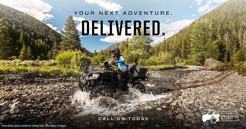 Polaris - Your Next Adventure. Delivered.